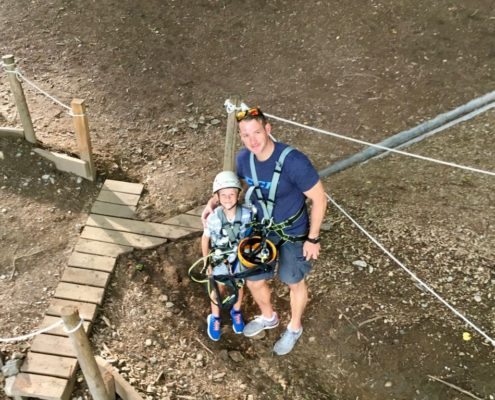 Kletterspass mit Trainer